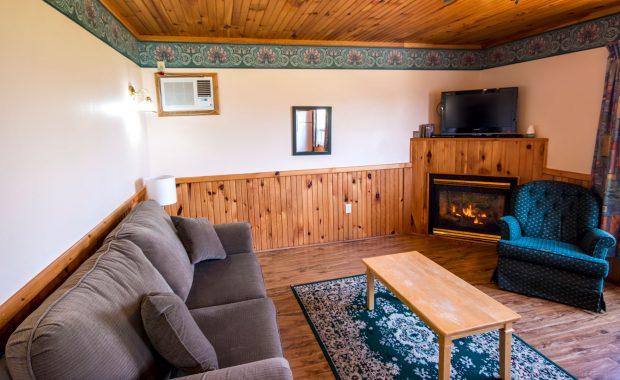 2 Bedroom w|Fireplace-Living Room